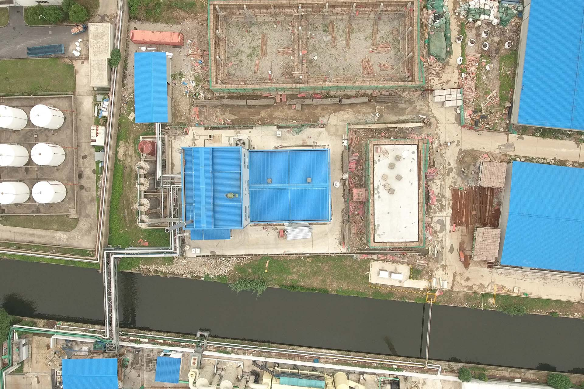 Suzhou Tianma Specialty Chemicals Co plant ecologia informatica aerial view